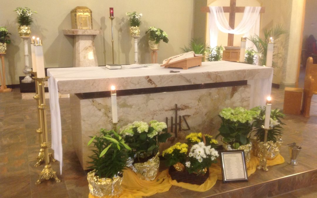 Holy Spirit Parish St Rose Easter 2019