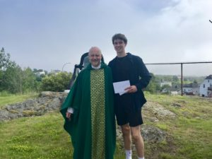 Holy Spirit Parish - July 13th Bursary Winner